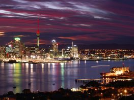auckland-sunset
